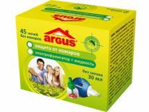 ARGUS Комплект - Жидкость(30мл) + фумигатор 45 ночей (без запаха)